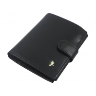 Męski portfel Puccini MU-1400 w kolorze czarnym