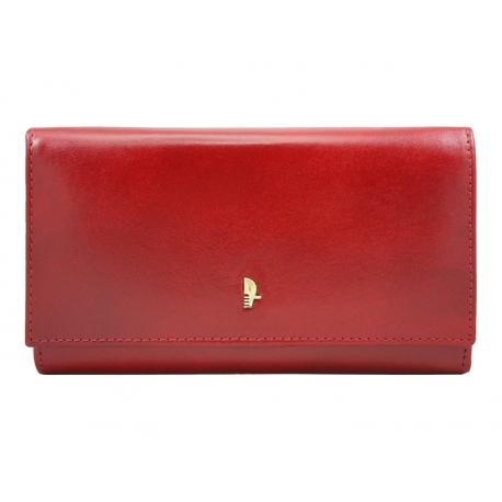 7e890354caa11 Portfel damski Puccini MU 1704 w kolorze czerwonym