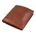 Mały portfelik Wittchen 21-1-065, kolekcja Italy, jasny brąz