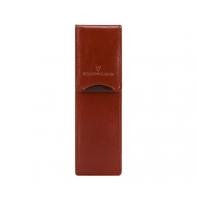 Etui na długopisy, Vip Collection Prestige, brązowe