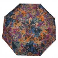 Automatyczna parasolka damska Tiros, kolorowe kwiaty