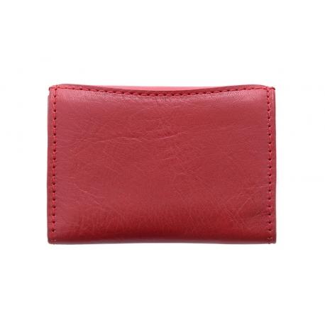 0204b792fe1e0 Malutki portfelik damski Puccini MU1806 w kolorze czerwonym