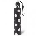 Ekskluzywna automatyczna parasolka damska Pierre Cardin, w grochy