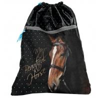 Worek na obuwie premium z głową konia, Paso