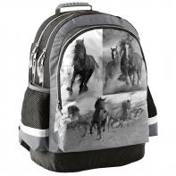 Lekki plecak szkolny z koniem, Paso