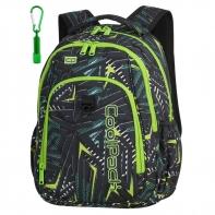 Młodzieżowy plecak szkolny CoolPack Strike 26L, Triangular Spiral A196
