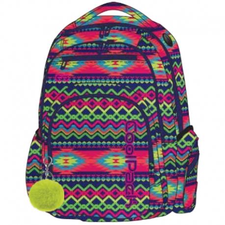 91d5f63d3c474 Młodzieżowy plecak szkolny CoolPack Flash 29L, Boho Electra A473