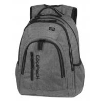 Młodzieżowy plecak szkolny CoolPack Mercator Plus 31 l, Snow Grey A311