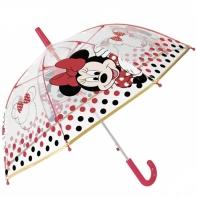 Dziecięca głęboka parasolka z motywem Myszki Minnie