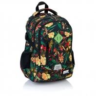 Plecak szkolny Astra Head HD-113, w kwiaty