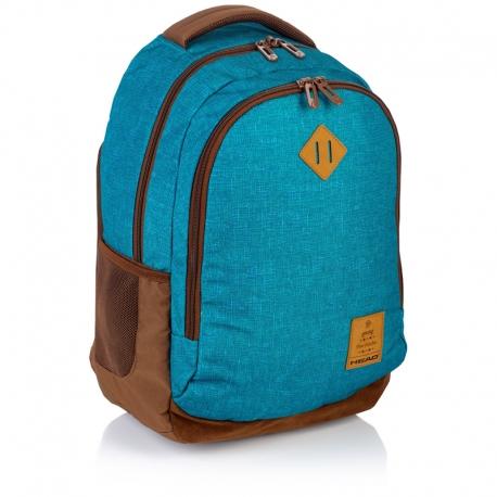 a40cd6815212d Plecak szkolny Astra Head HD-56, niebiesko - brązowy