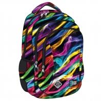 Dwukomorowy plecak szkolny St.Right 19 L, New Illusion