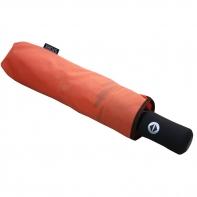 Automatyczna parasolka damska Stork, pomarańczowa z lamówką