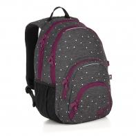 Dwukomorowy plecak młodzieżowy Topgal SIAN 18033