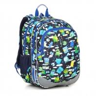 Plecak dwukomorowy dla chłopca Topgal ELLY 18002