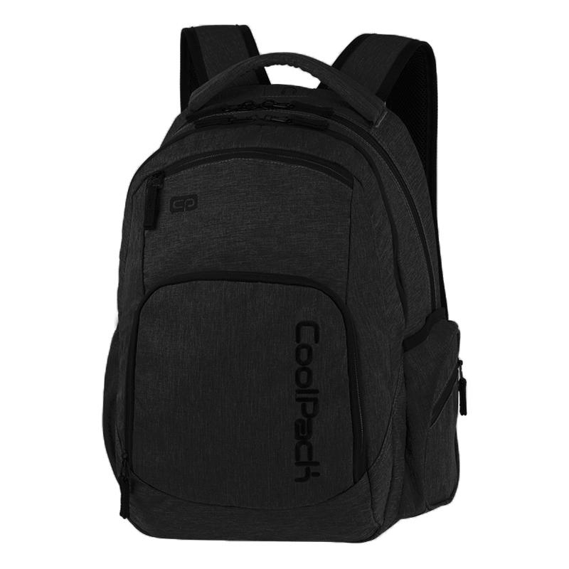 0ff7594f0500a Młodzieżowy plecak szkolny CoolPack Break 29 l, Snow Black A327