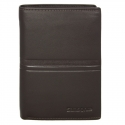 Skórzany brązowy portfel męski Samsonite Success, RFID
