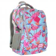 Plecak szkolny Astra Hash HS-03, flamingi