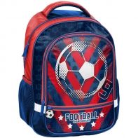 Lekki plecak szkolny z motywem piłki nożnej, Paso Football