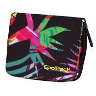 Młodzieżowy portfel damski Coolpack TROPICAL ISLAND 778