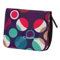 Młodzieżowy portfel damski Coolpack MOSAIC DOTS 728