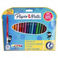 18 flamastry Paper Mate Crealo