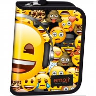 Piórnik jednokomorowy St.Right, Emoji Yellow PC03