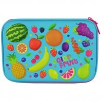 Piórnik jednokomorowy 3D Eva, Fruits - Owoce