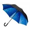 Duża parasolka z motywem deszczu