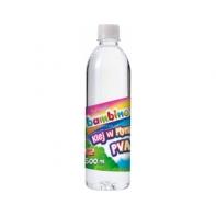 Przezroczysty klej PVA w płynie Bambino 500 ml, do slimów/glutów