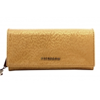 Długi portfel damski Peterson, złoty