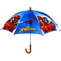 Parasolka dziecięca Spiderman niebieska