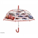 Głęboka, automatyczna parasolka dziecięca Auta - Cars