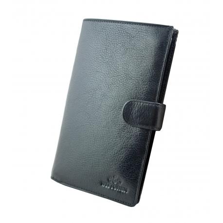 3b36ca666446c Bardzo duży skórzany portfel męski Wittchen 21-1-263, czarny - kolekcja  Italy