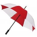 Parasolka automatyczna biało czerwona