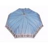 Automatyczna parasolka damska marki Parasol, niebieska w paski