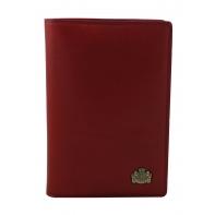 Etui na paszport skórzane Wittchen w kolorze czerwonym