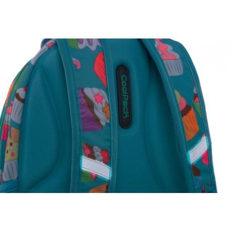 ba64517ce0693 Swiecący plecak szkolny CoolPack LED Strike S 19 L Cupcakes A18203 +  ładowarka