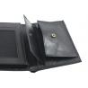 Męski portfel skórzany Puccini MU-1696 w kolorze czarnym
