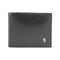 Męski portfel Puccini MU-1694 skórzany w kolorze czarnym