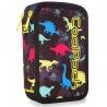 Potrójny piórnik z wyposażeniem, Coolpack Jumper 3, DINOSAURS, A67204