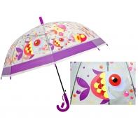 Dziecięca głęboka parasolka z gwizdkiem, rybki