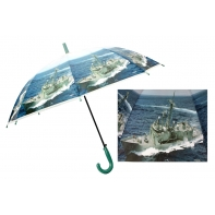 Automatyczna duża parasolka dziecięca z motywem okrętu