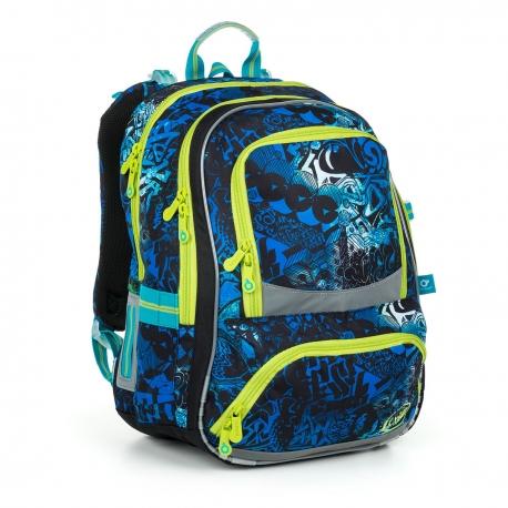 d4fb3d538b436 Dwukomorowy plecak szkolny Topgal NIKI 19017