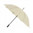Bardzo duży parasol damski, lekki, ecru