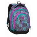 Superlekki plecak szkolny Bagmaster, niebiesko-fioletowy ENERGY9C