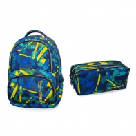 Zestaw szkolny Abstract Yellow, Coolpack