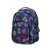 Młodzieżowy plecak szkolny CoolPack Break 30 l, Skull&Roses B24049