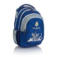 Trzykomorowy plecak dla chłopca Real Madrid Astra RM-171