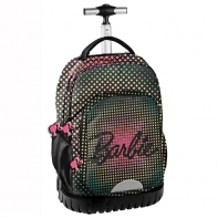 Plecak szkolny na kółkach Paso, Barbie